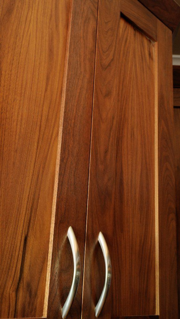 Cherry wood shaker cabinet door