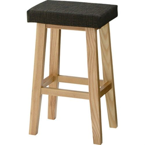 rt spiral stool retro wooden wood seat chair