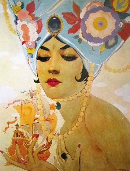 Sheherazade by Alberto Vargas