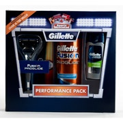 """Gillette Fusion Proglide Performance Pack with Bonus """"Sports Illustrated"""" Subscription (Value Saving $24)"""