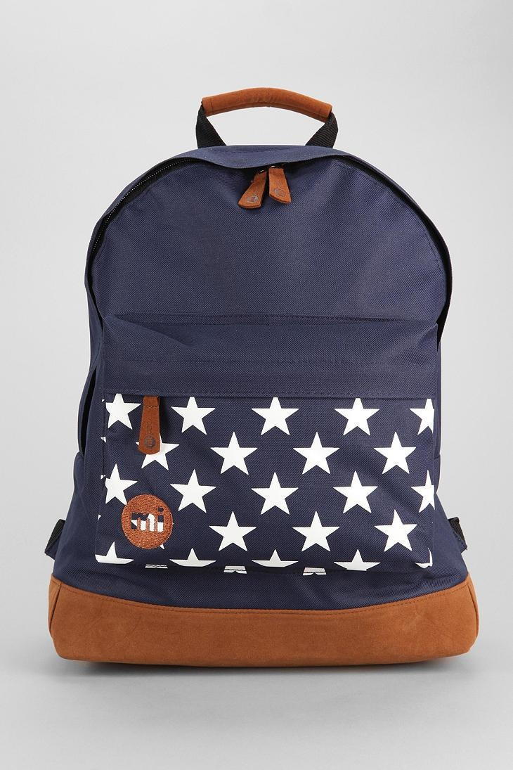 Mi Pac Stars Backpack urbanoutfitters