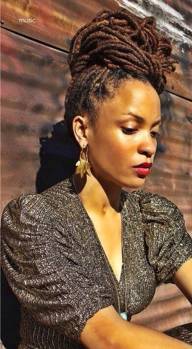 dreadlock styles for long hair 86 best lovely locs images on 2282 | 10b293f58f44d3d0ef1e745bae24e0f3 black women dreadlocks loc hairstyles