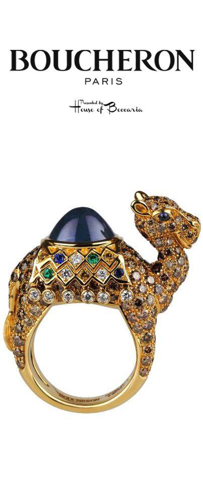 ~Boucheron Camel Ring | House of Beccaria#