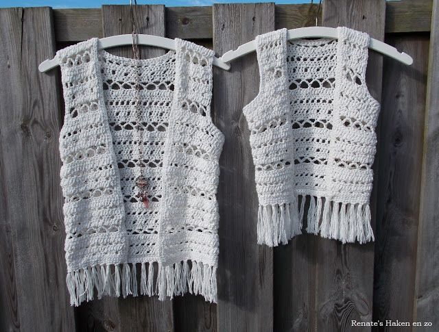 Ibiza-style vestjes (met link naar gratis patroon) / Ibiza-style cardigans (with link to free pattern)