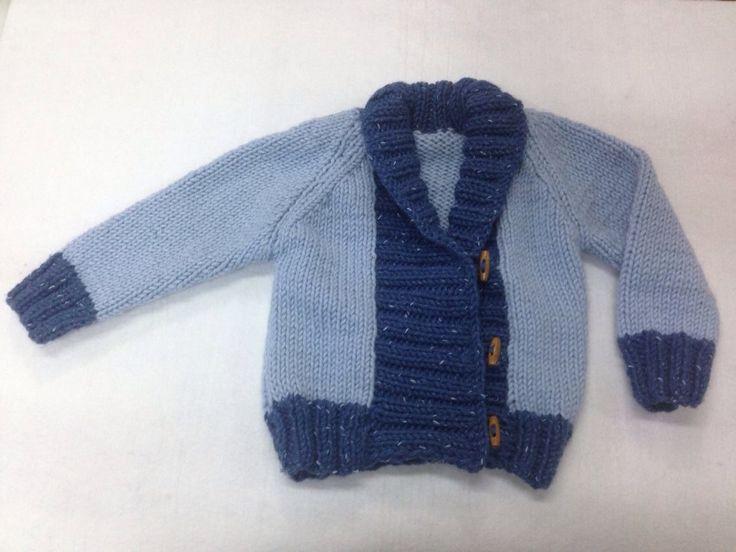 Mavi bebek hırkası