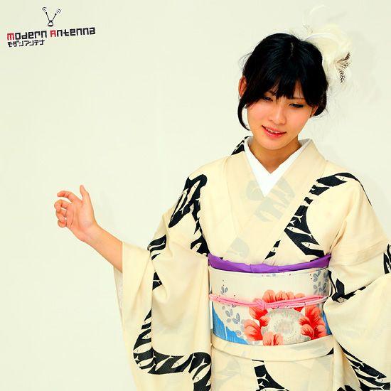 Mod Pop Punk: Contemporary Kimono by Modern Antenna 19