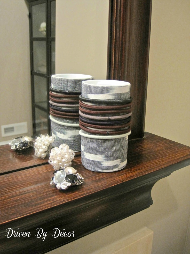 Driven By Décor: DIY Organizer for Hair Accessories