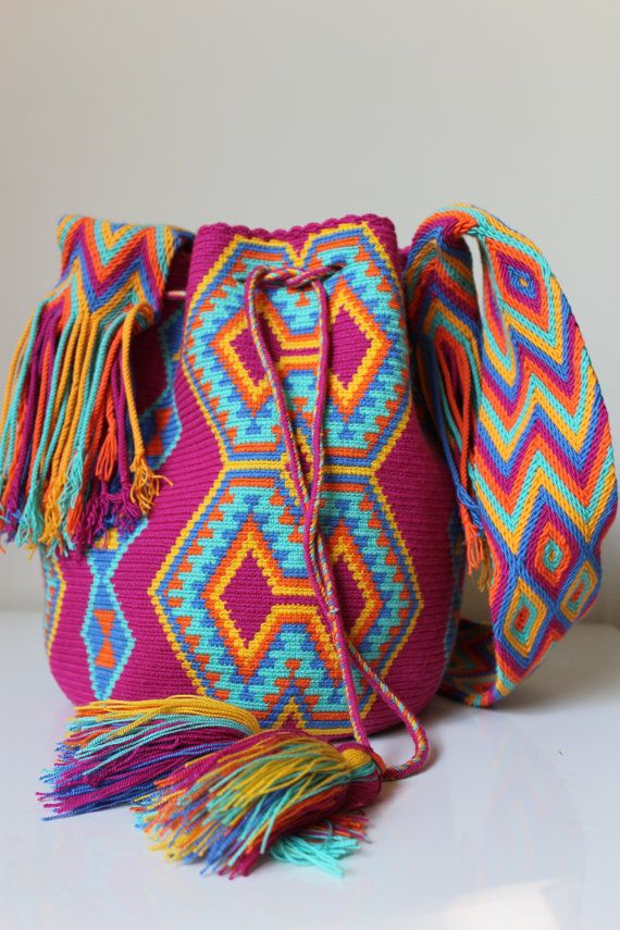 Wayuu Mochila Bag by WaluStyle on Etsy