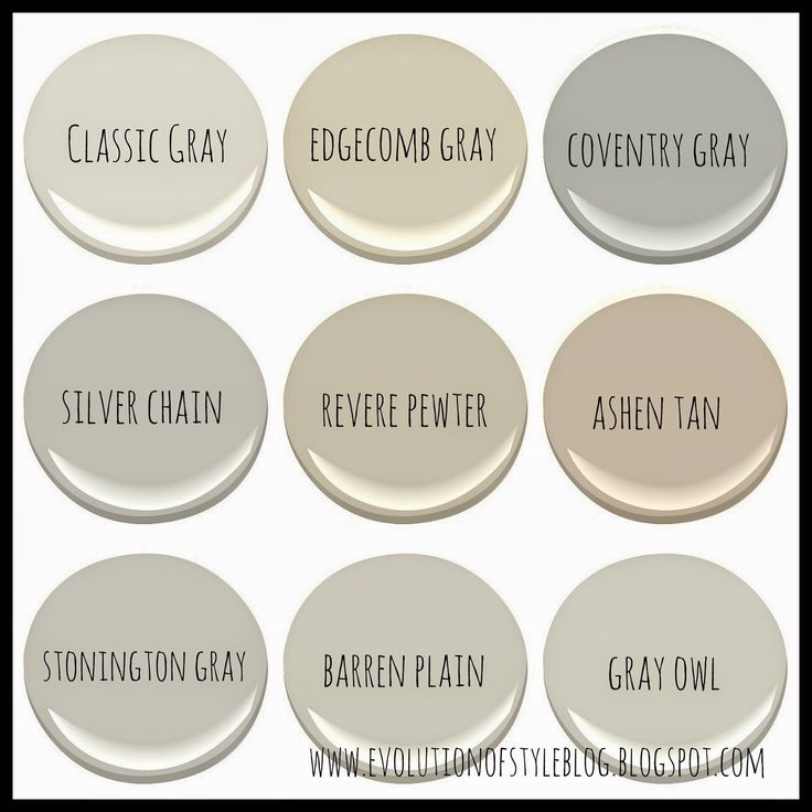 Evolution Of Style Benjamin Moore 39 S Best Selling Grays
