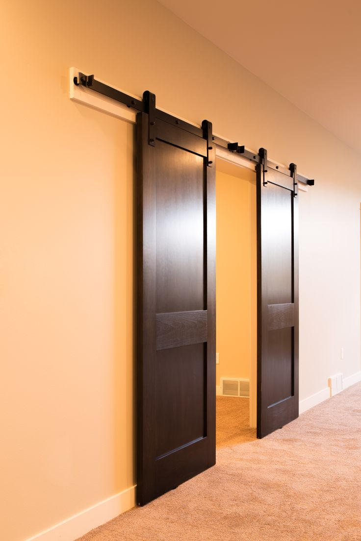 390 best images about interior products on pinterest for Interior barn door installation