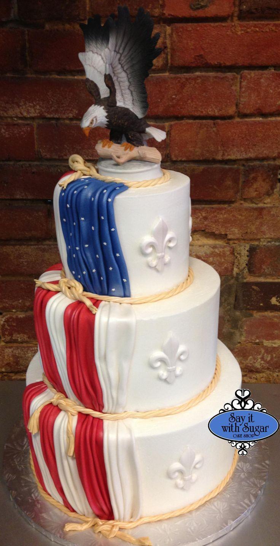 American flag patriotic cake patriotic cake decorating for American flag cake decoration