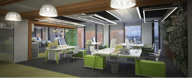 Pitch for corporate offices by our team-rendering