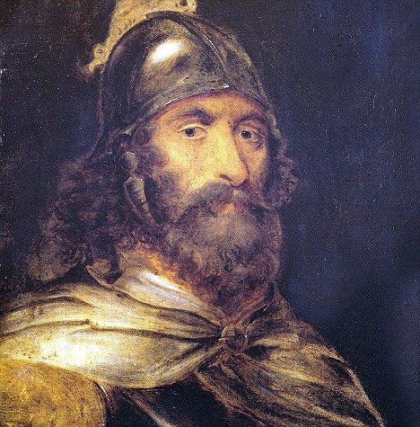 National hero: Scottish nationalist William Wallace was eventually captured and killed by the English in 1305