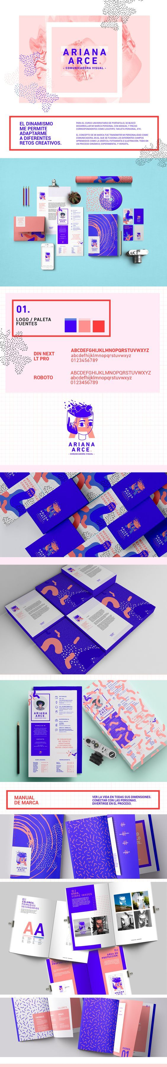 Visual Communications Branding by Ariana Arce Salazar | Fivestar Branding Agency – Design and Branding Agency & Curated Inspiration Gallery