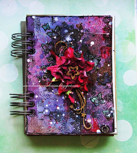 Art journal without words dla Art Anthology