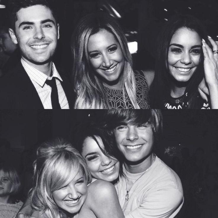 HSM<3 Zac Efron, Ashley Tisdale and Vanessa Hudgens!!
