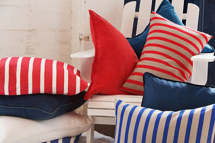 These Eadie cushions will bing life and colour to your home