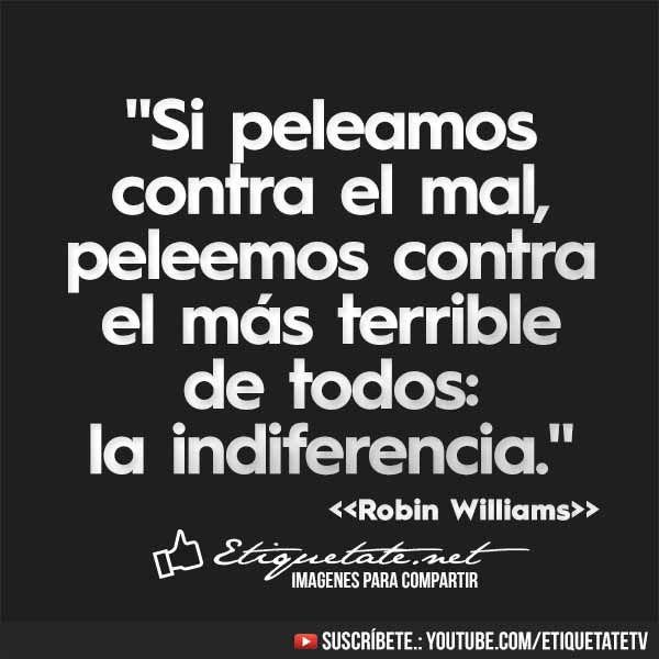 Frases hechas en español de Robin Williams en imágenes