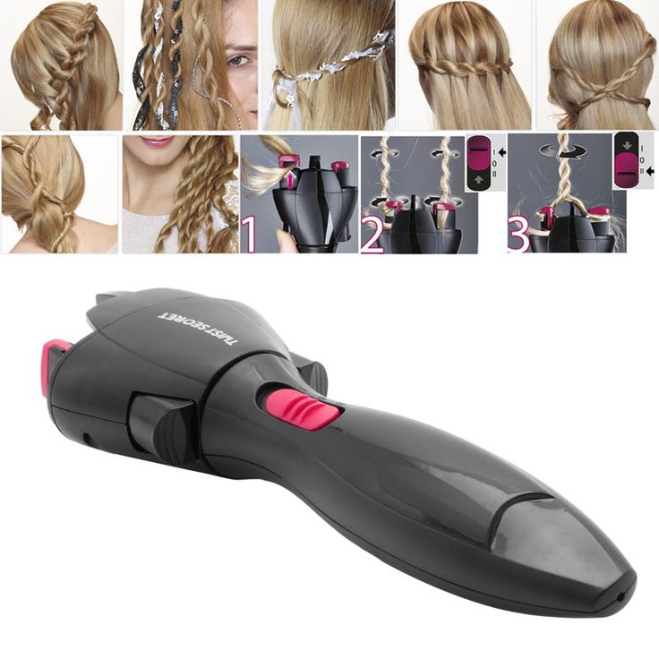 Twist Braid Automatic Knitted Device DIY Hair Braiders Style Gadget For Women //Price: $17.18 & FREE Shipping //     #GAMES
