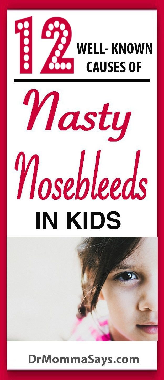 Dr. Momma lists and discusses 12 well-known causes of nasty nosebleeds in kids which can become recurrent and may need treatment of underlying problems. Allergies l Mucus l Nasal congestion l Allergy l Sinus Infection l Nosebleed l Dry Nose l Vaseline  l Saline l Salt water wash l Dr. Momma l DrMommaSays.com