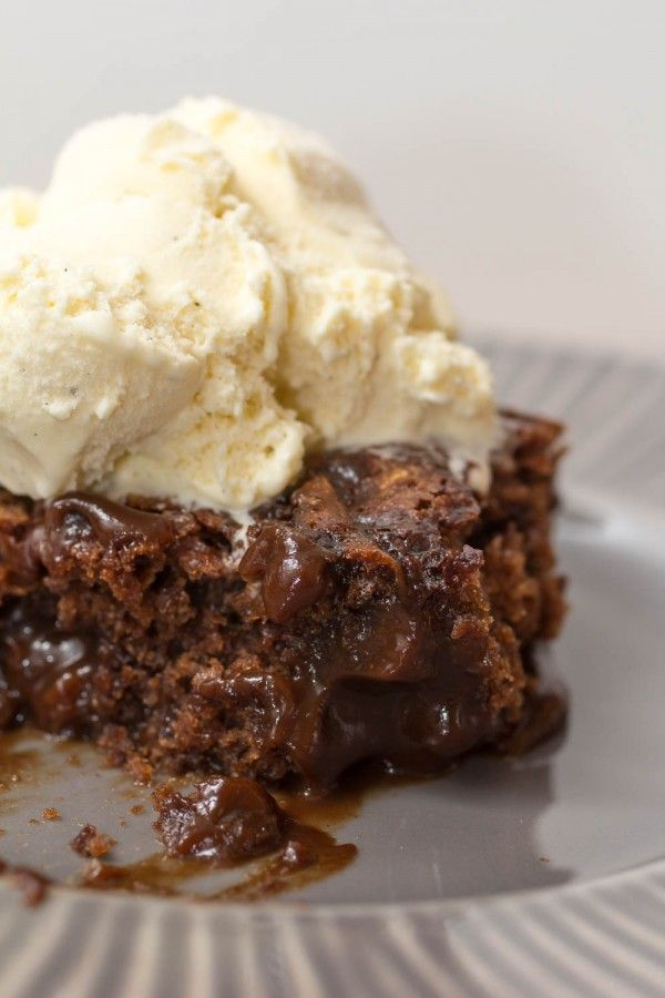 Super Chocolate Hot Fudge Brownie Cake - Chocolate Chocolate and More!