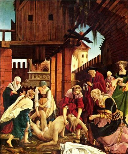 Albrecht Altdorfer  Recuperare Il Corpo Di San, Sebastian  1516