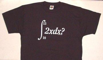 math pick up line t-shirt? so good.