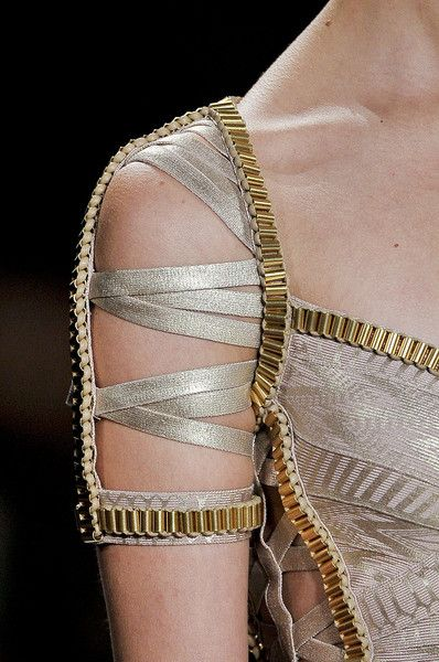 Hervé Léger by Max Azria at New York Fashion Week Spring 2012 - Details Runway Photos