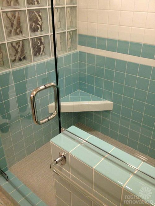 33 best Style - Retro Bath images on Pinterest | Bathroom, Bathrooms ...