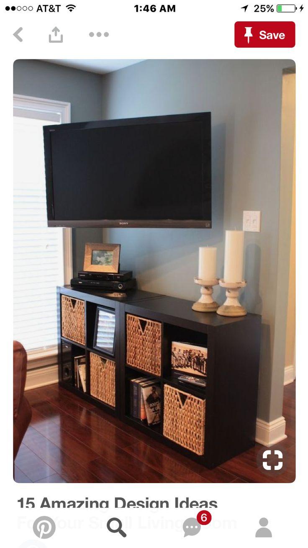 best 25 tv in corner ideas on pinterest corner tv mount mounted tv and small corner bath. Black Bedroom Furniture Sets. Home Design Ideas