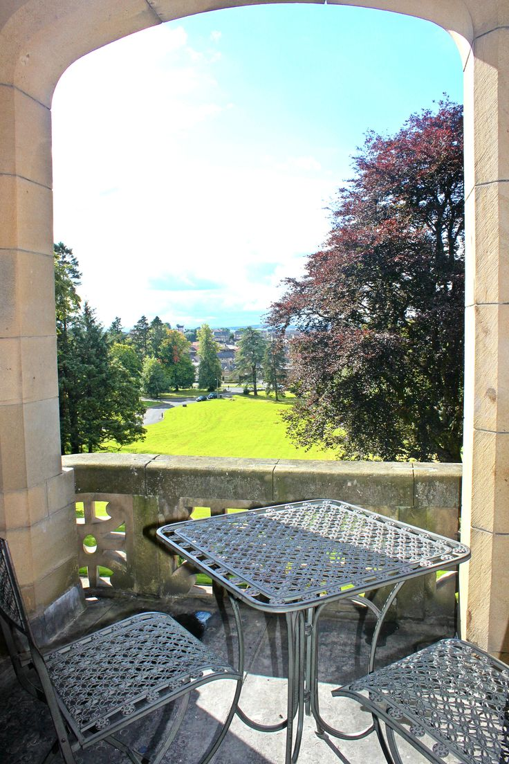 Paton Suite balcony at Inglewood House #Hotel #gardens #luxury