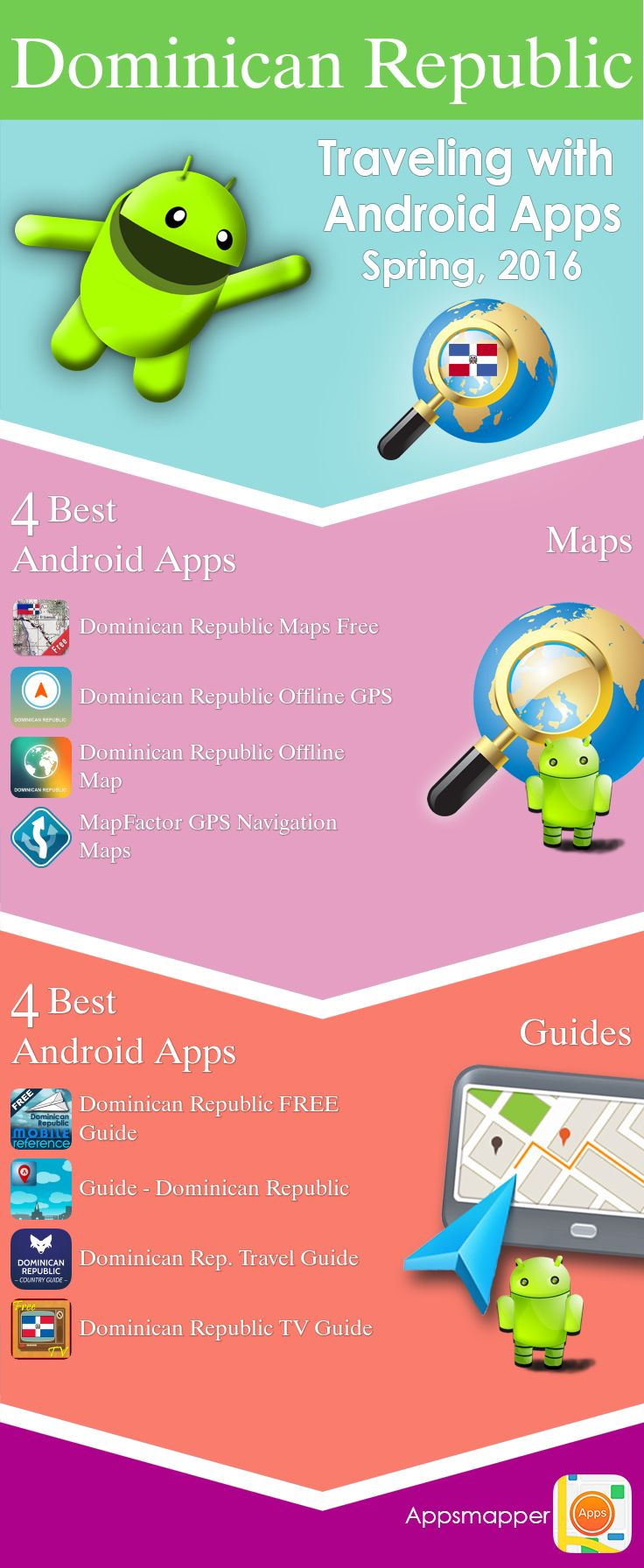 Dominican Republic Android apps Travel Guides Maps
