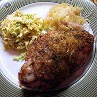 Roasted Turkey Thighs Recipe ~ Thes sound yummy! I'll be making these tonight but will use herbed butter instead.