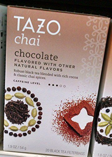 Tazo Chai Tea Chocolate -- 20 Tea Bags - http://teacoffeestore.com/tazo-chai-tea-chocolate-20-tea-bags/