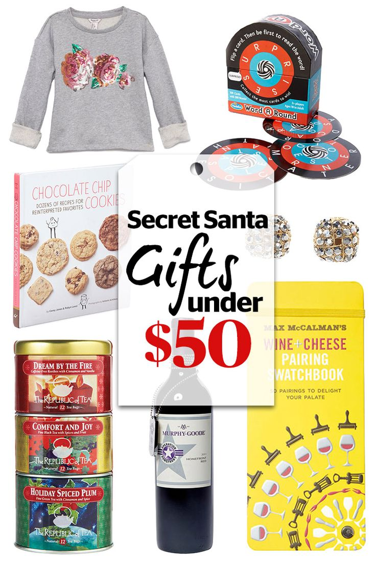 The Best Secret Santa Gifts -- ALL Under $50
