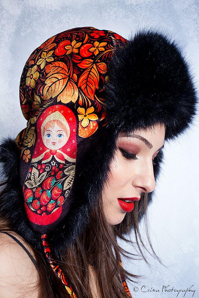 Matrioska winter mood {Self portrait} © CrinaPhotography www.facebook.com/CrinaPhotography