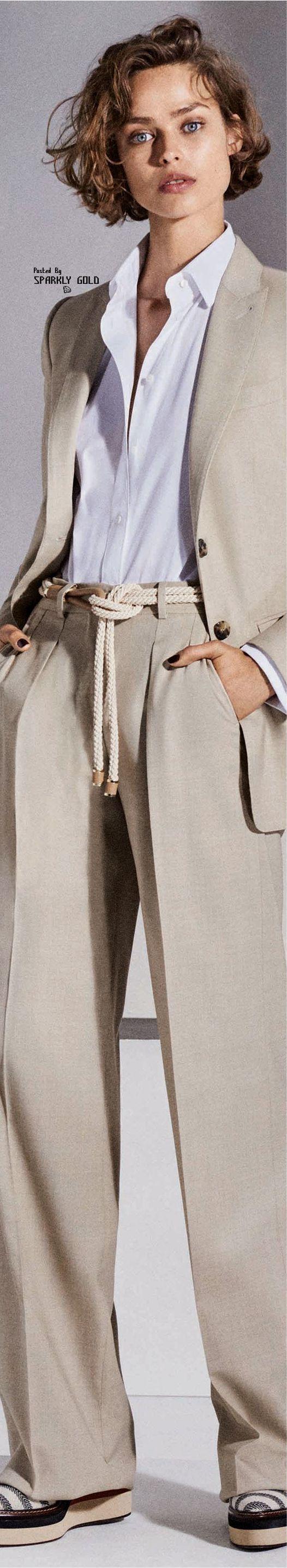 Max Mara Resort 2018 #womenpantssuits
