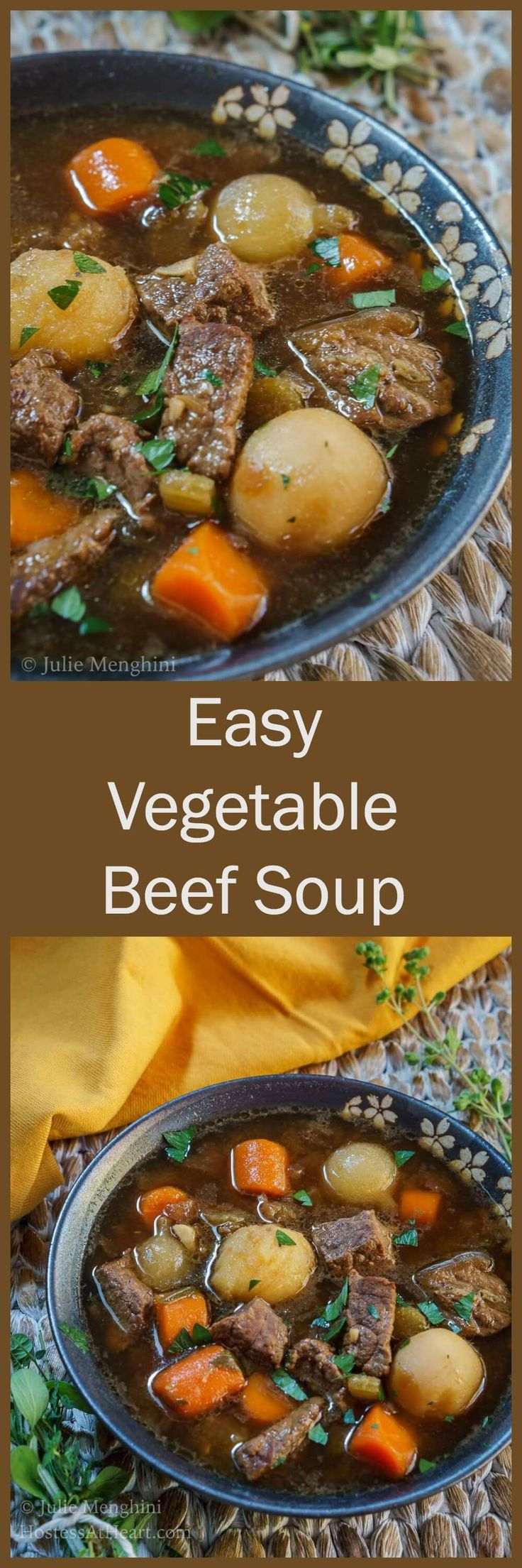 Best 25 vegetable beef soups ideas on pinterest for Easy tasty soup recipes