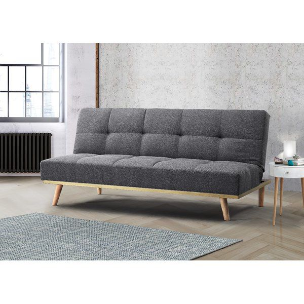 Wyndham 3 Seater Sofa Bed Fabric Sofa Bed Sofa Bed Grey Fabric Sofa