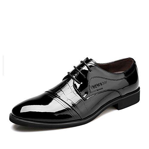 VANGELO - Zapatos de cordones de Material Sintético para hombre, color, talla 48 EU M