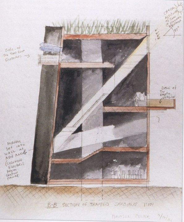 architecture drawing steven holl