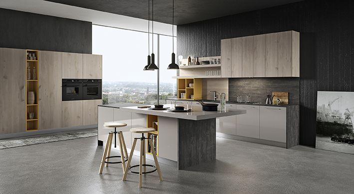 cocina-madera-roble-bamax4 cocinas Pinterest - kchenfronten modern