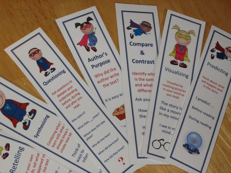 Reading strategy or reading skill? Find out the difference. Poster and bookmark set covers most of the Common Core Reading standards for 2-4 grades.