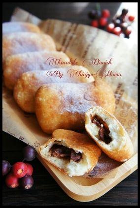 ★オススメ★ [捏ねない!発酵なし!] フライパンでチョコデニッシュ風 と 化粧 と 私。|レシピブログ