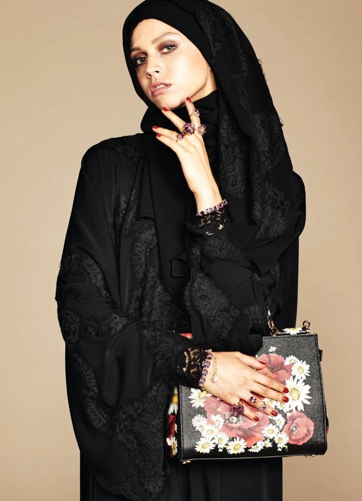 Exclusive: The Dolce & Gabbana Abaya Collection Debut | @dolcegabbana #modesty #hijab