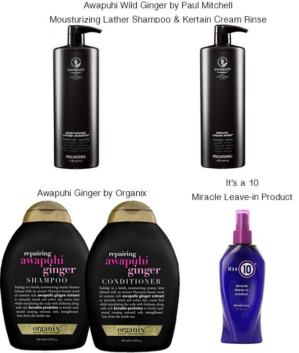 Best hair products for softer hair: Sulfate free shampoo & conditioner doesn't dry it out like normal shampoo