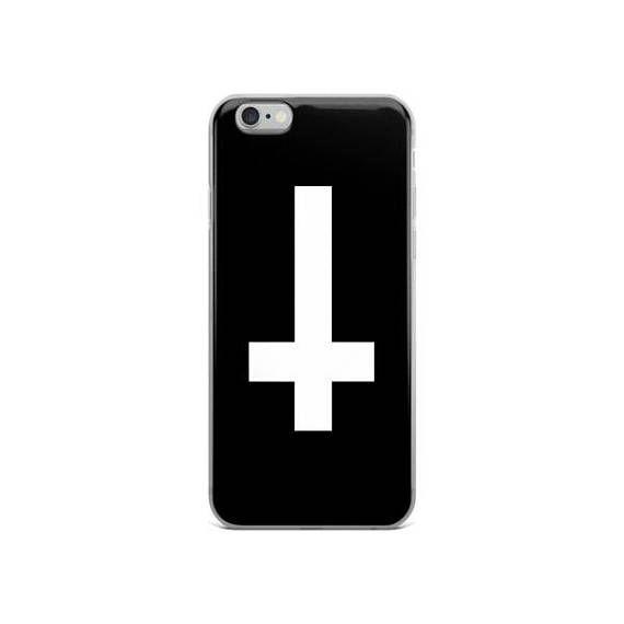 upside down cross iPhone 5/5s/Se 6/6s 6/6s Plus Case