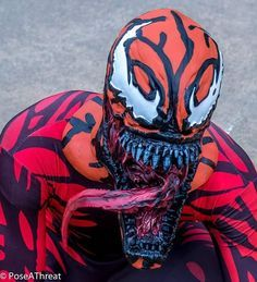 """""""Give us what we want flesh bags!"""" Hope you all are having a good weekend hope your having fun and be safe here is a close up shot of my Carnage Cosplay Photography by Pose A Threat Photography of NC #marvelcarnage #carnage #carnagecosplay #carnagrsymbiote #cletuskasady #symbiotes #symbiote #spidermanvillain #spidermancomics #spidermanvillains #marvelcosplayers #marvelcosplay #marvelcomics #marvelcharacters #marvelvillain #marvelvillains #comicbookcharacters #cosplayers #photography…"""