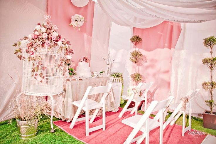 Montaje y ambientaci n para boda estilo vintage celebra for Ambientacion para bodas