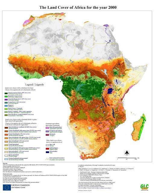 Mapas de África, mapas políticos de África, mapas curiosos de África... - Africanidad